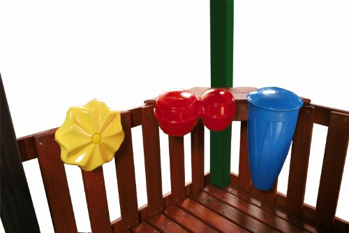 SwingNSlide NE 4895 Outdoor Rhythm Band Swing Set Music Play Kit Pack of 3 MultiColored