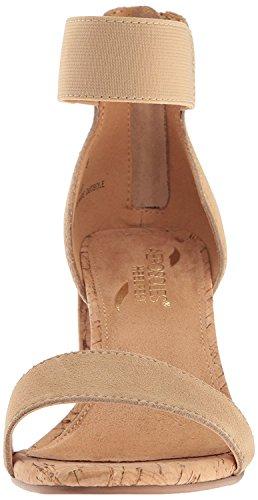 Sandals Suede Aerosoles (Aerosoles Women's High Hopes Dress Sandal, Light Tan Combo, 8.5 M US)