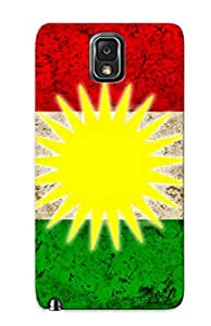 New Style Exultantor Hard Case Cover For Galaxy Note 3- Kurdistan Flags