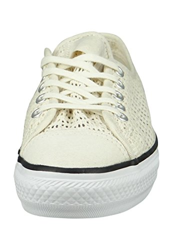 Chucks All 551545c Dainty High Star White Converse Line Egret Black Beige