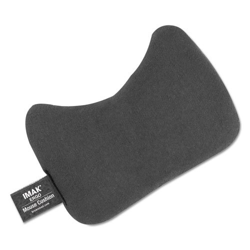 Mouse Wrist Cushion, Black, Sold as 1 Each