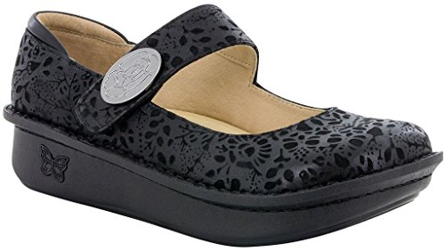 Alegria Paloma Women's Slip On 44 M EU Black by Alegria