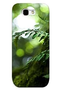 New Arrival WfvOueh1929LEmkY Premium Galaxy Note 2 Case(nature Leaves Bokeh Moss Macro Ferns Tree Trunk )
