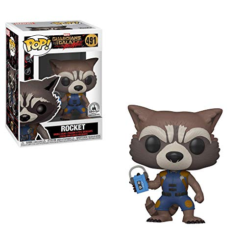 POP Funko Guardians of The Galaxy 491 Rocket Breakout Disney Exclus
