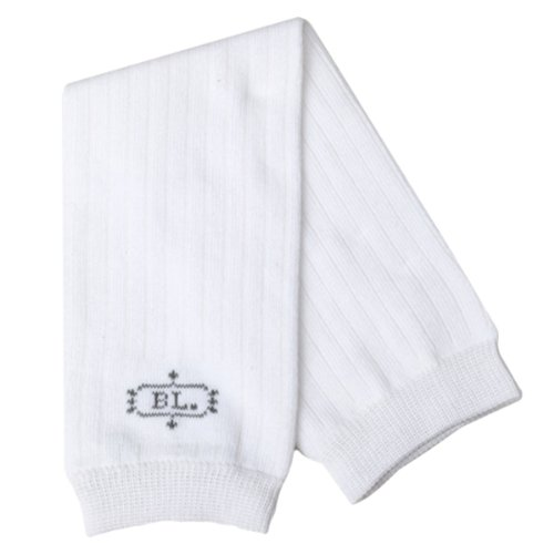 BabyLegs White Ribbed Leg Warmers, White, One Size ()