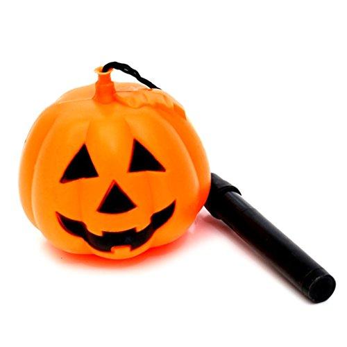 BYNNIX Pumpkin Mini Buckets - Halloween Trick or Treat Bags for Party Favors Jack-O-Lantern (Pumpkin Latern-M)