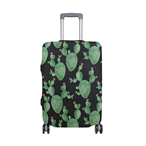 Suitcase Cover Cactus Watercolor Plant Luggage Cover Travel Case Bag Protector for Kid Girls