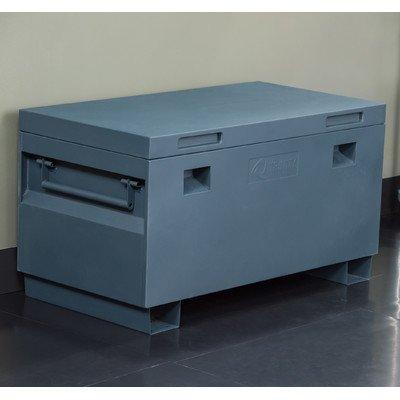 TRINITY TXKPGR-0502 Job Site Box, 36', Gray