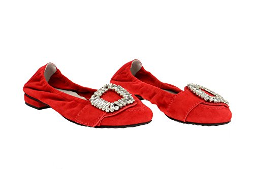 Kennel & Schmenger 71-10960-483, Ballerines pour femme Rouge