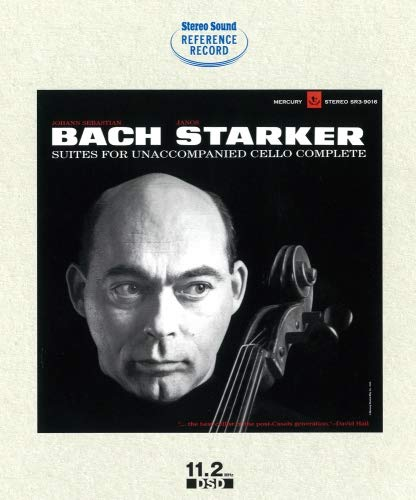 J.S.BACH: SIX SUITES FOR SOLO CELLO JANOS STARKER (BD-ROM) [BD-Rom DSD File] Janos Starker, Violoncello,