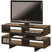Coaster 700720 Home Furnishings TV Console, Cappuccino