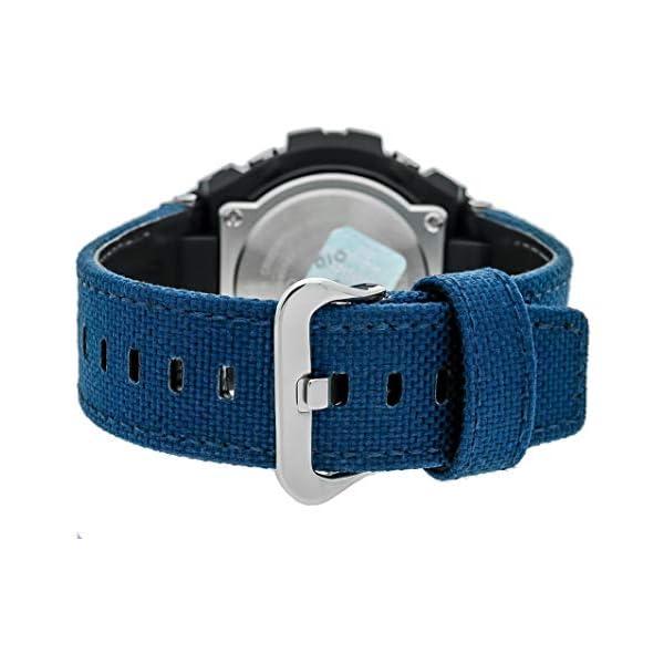 Casio Reloj Analógico-Digital para Hombre de Cuarzo con Correa en Tela GST-W330AC-2AER 3