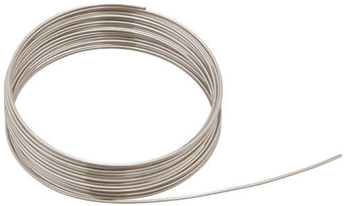 Price comparison product image Beadalon 18-Gauge Stainless Steel Round Bright Wire for Jewelry Making,  3.5m
