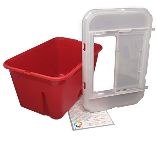 Sharps Container 1 Gallon – Large – Puncture Resistant for Safe Needle Disposal – Approved for Home and Professional use…