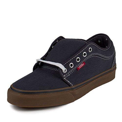 Vans Mens Chukka Low (Bandana) Navy/Gum Canvas Size 8.5 Skateboarding