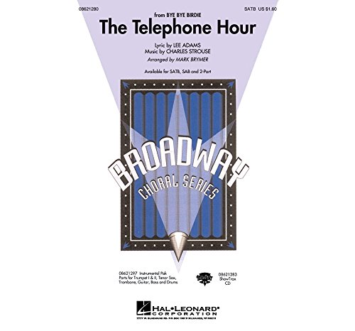 Hal Leonard The Telephone Hour (from Bye Bye Birdie) ShowTrax CD Arranged by Mark Brymer -