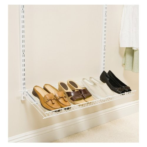 - Rubbermaid Configurations Add-On Shoe Shelf Kit - White