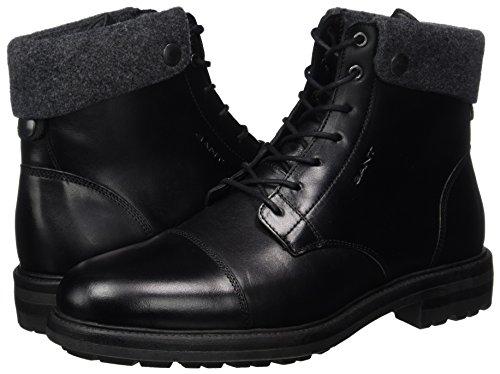 GANT Nobel 17644898 Gr.45 Herren Klassische Stiefel Leder Blockabsatz Braun | eBay