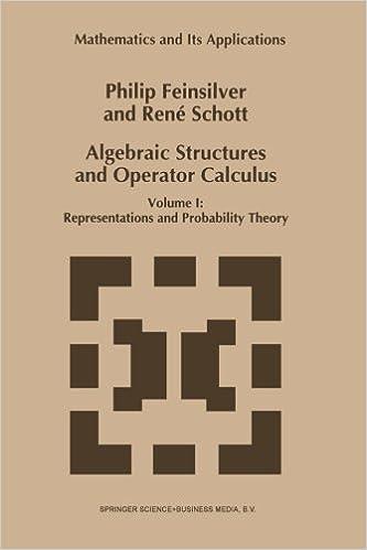 Algebraic Structures and Operator Calculus: Volume I: