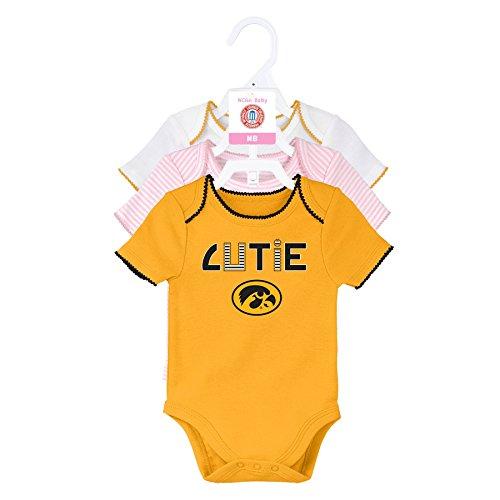 Iowa Hawkeye Baby Clothes - NCAA by Outerstuff NCAA Iowa Hawkeyes Newborn