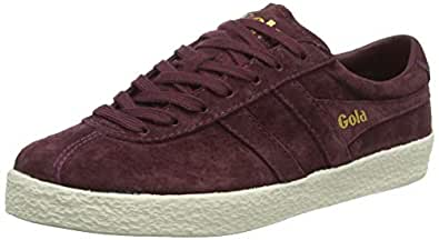 Gola Women's Trainer Suede, Windsor Wine/Off-White, 5 B (M)