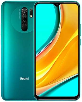 Xiaomi Redmi 9 4GB 64GB Smartphone 13MP Ai Quad Camera 8MP Fotocamera Selfie MTK Helio G80 Octa-core 6,53″ Schermo Full HD Telefono Cellulare (Verde) [No NFC]