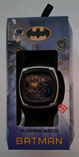 DC Comics Batman Flashing Lights Kid's LCD Watch