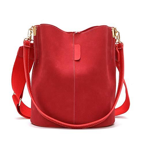 Rojo Al Joker Marrón De Bag Crossbody Libre Bolsa Asas Bolso Aire Bag new El Wangkk Para Con wnq46ZB0aa