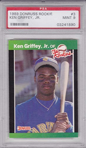 - 1989 DONRUSS KEN GRIFFEY JR. ROOKIE GRADED PSA 9