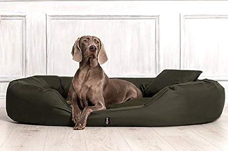 tierlando® S4 - 26 Sammy extra Perros sofá cama para perro Talla XL 110 cm oliva verde: Amazon.es: Productos para mascotas