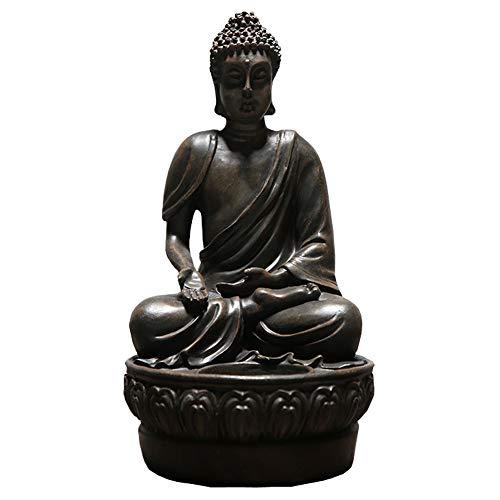 (KoHuiJoo Buddha Statue for Home, Small Praying Seated Buda Statues, Meditating Peace Harmony Blessing Amitabha Figurine 7
