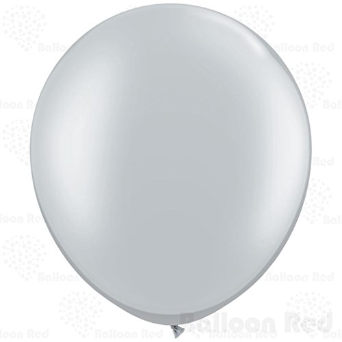 [36 Inch Giant Jumbo Latex Balloons (Premium Helium Quality), Pack of 1, Regular Shape - Metallic] (30 Second Costumes)
