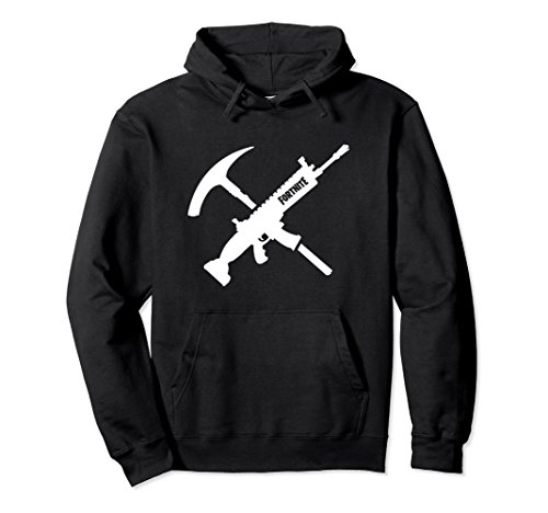 """Unisex Fortnite """"Tools of the Trade"""" Hoodie Small Black"""