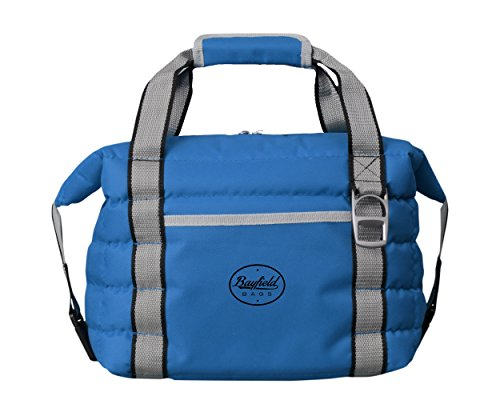 - Bayfield Bags Soft Sided Insulated Collapsible Cooler Bag - Holds 16 Cans - Tote for Beach, Car, Picnics, Golf - Heavy-Duty Material, Leak Proof Lining & Insulation