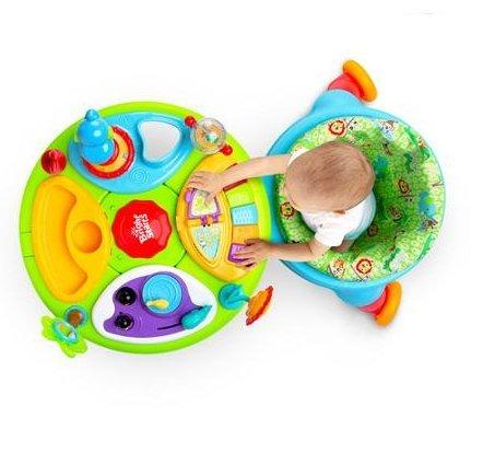 418xkjcr5jL - Bright Starts 3-in-1 Around We Go-Activity Station, Baby Walker And Baby Toys