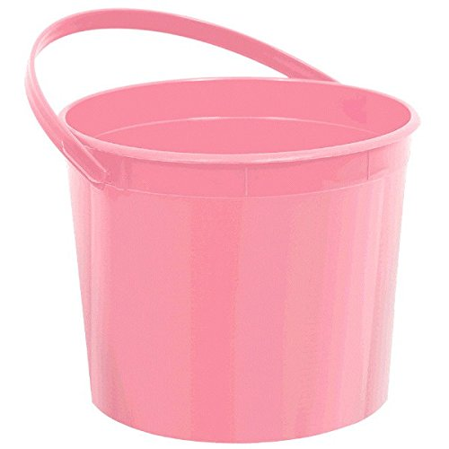 Plastic Bucket | New Pink | Party -