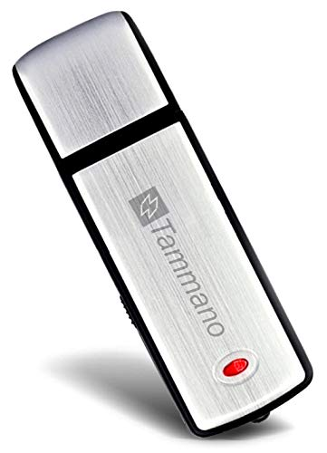 QuantumCreator Best USB Voice Recorder and Memory Stick in One - Audio Digital Sound Recording Device - Mini Dictaphone - Compatible with Windows and Mac System - for Professionals, Students and Kids