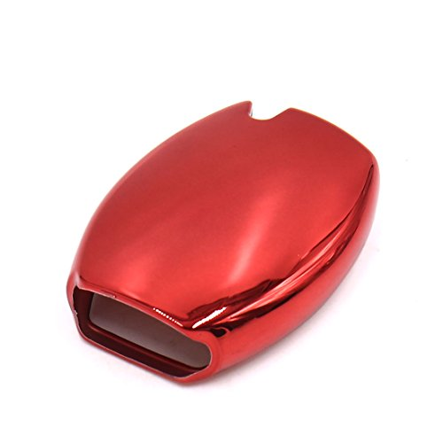 uxcell Red Plastic Remote Key Case Holder Shell Cover Fit For Mercedes-Benz GLA200 by uxcell