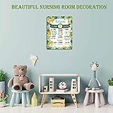 Baby Milestone Wild One Birthday Decorations Board
