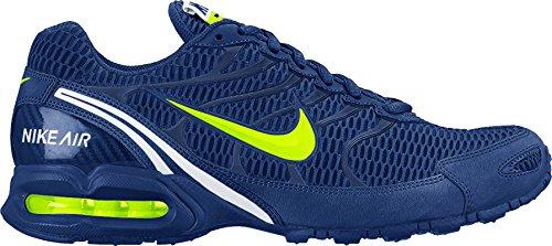 Nike Mens Air Max Ficklampa 4 Träningsskor Djupt Kungsblå / Volt-white