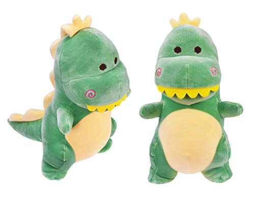 HWD 12'' Plush Dinosaur Doll, Stuffed Animal Toys (Green)