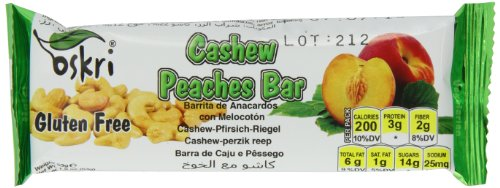 Cashews, Peach and Apricots, 1.9-Ounce (Pack of 20) (Apricot Granola)
