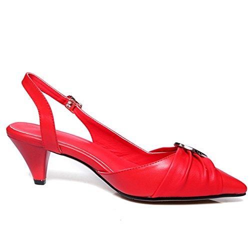 Nine SevenPumps - Zapatos con correa de tobillo mujer Red