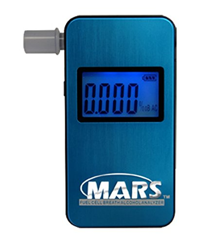Breathalyzer Portable Tester Measures Content Personal Tester Digital Seconds Accurate
