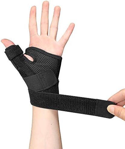 手首の睡眠サポート - 両手にフィット - 手根管の手助けをし、手首の痛みを和らげ、和らげます。