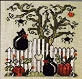 Sweetheart Tree Spook-tacular Halloween Counted Cross Stitch Kit