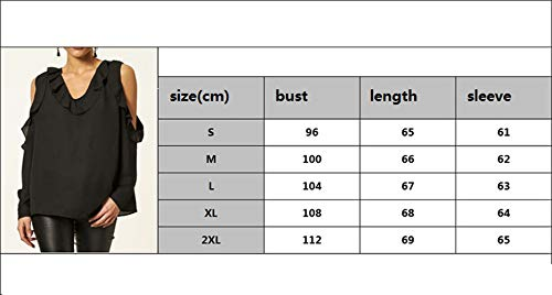 Blouse T Gavemenget Couleur Fonc Tops Hauts Printemps Shirts Tees Epaule Casual Shirts Nu Automne Manches Vert Chemisier Unie Longues et Femmes rx4qw6raP