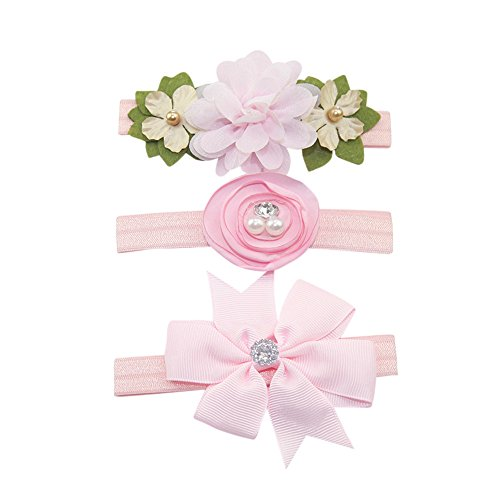 Newmao Toddler Girls Beautiful 3Pcs Butterfly Hairclip Princess Casual Party Hairpin