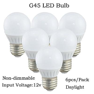 Replaces 25w Incandscent bulb G45 LED Bulb