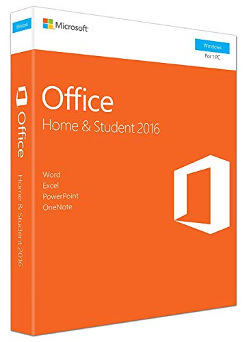 Office 2016 Home and Student for Windows English Language Product Key Card...